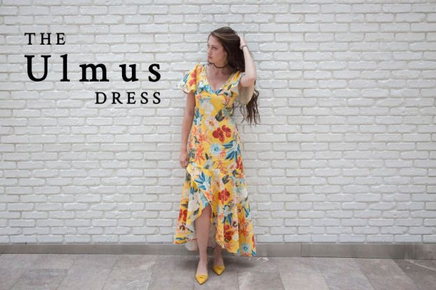FREE PATTERN - Ulmus Dress - by Mood Sewciety and brought to you by www.feedourlife.blog