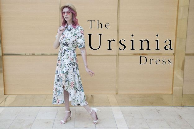 FREE PATTERN - Ursinia Dress - by Mood Sewciety and brought to you by www.feedourlife.blog