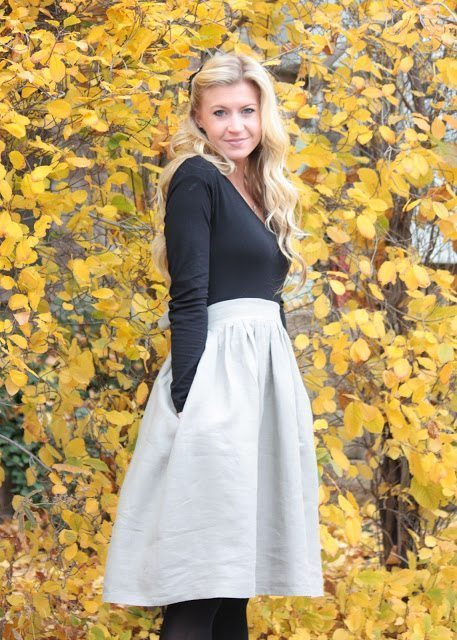 FREE PATTERN - Winter Shirt Dress - by Elle Apparel and brought to you by www.feedourlife.blog